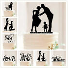 Acrylic Mr &Mrs Bride and Groom Wedding-Love Cake Topper Party Favors Decoration