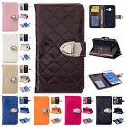 For Samsung Galaxy Core Prime G360 Metallic Button PU Leather Wallet Case Cover