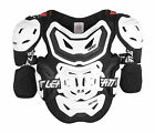 NEW LEATT 5.5 PRO HD DIRTBIKE MOTOCROSS ADULT CHEST PROTECTOR WHITE SIZE ADULT