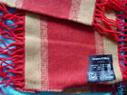 $140 NWT AUTHENTIC JACQUES D'ALBRY  HANDMADE  SCARF NEW