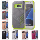 Two In One Hybrid Hard Rigid Plastic&TPU Rubber Cover Case For Multiple Phones
