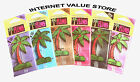 CALIFORNIA SCENTS PALM HANGING CAR AIR FRESHNER. VARIOUS SCENTS AVAILABLE!!