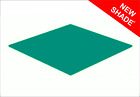 Turquoise Gloss Acrylic Perspex Sheet Colour Cast Cut to Size Panel Plastic