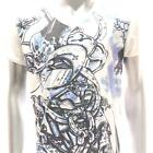 w12 M L XL Japanese Irezumi Tattoo VNECK T-shirt Demon ONI Samurai Punk Graffiti