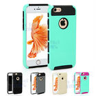 Hybrid Heavy Duty Rubber Hard Tough Case Cover For Apple iPhone 6S 6