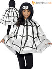 Childrens Spider Cape Boys Girls Animal Fancy Dress Halloween Book Week Outfit