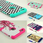 For Apple iPhone 6 6S Plus Case Hybrid Shockproof Hard Heavy Duty Rubber Cover