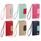 """Luxury PU Leather Wallet Flip Cover 4.7"""" 6 Colors Case For Apple iPhone 6 DZ88"""