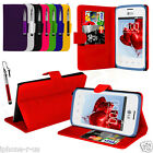 Leather Wallet Flip Mobile Phone Case Cover For LG L20