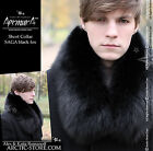 Original MEN'S 80cm full fur STOLE collar boa scarf Ranched Fox in variations