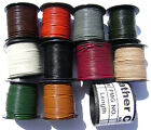 Genuine Natural Leather Cord Goat Necklace Bracelet Lace 1mm Round 25 Yard Spool