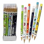 Zebra Cadoozle Mini Mechanical Pencils Mixed Fun - 0.7mm HB - Pack of 5, 10, 36