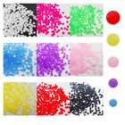 NO05 100 Pcs, 1000 Pcs Craft Beads Nail Art Dry Tool Noctilucent Resin Stone-6mm