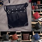 1PCS Women PU Leather Shoulder Bag Handbag Messenger Hobo Tote Purse Bag BW7