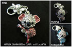 Crystal Koala Bear Charm *OPTION* Koala Bear Cell Phone OR Clasp Charm