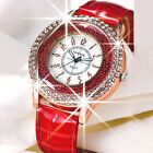 HOT Luxury Diamond Rhinestone Watch Women Casual Leather Quartz Wristwatch