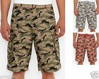 Levis Leaf Camo Belted cotton Snap Cargo shorts 30 31 32 33 34 36 38 40 42 NEW
