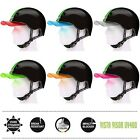 Melon Helm straight green black (Set) - Fahrradhelm, BMX Helm, Bike, Skateboard