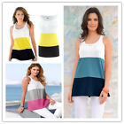 Fashion Women's Summer Striped Tank Tops Sleeveless Blouse Casual T-Shirt Vest