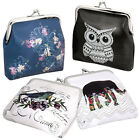 BMC 4 pack Womens Various Design 4 inch Coin Wallet Purse Pouch