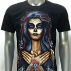 r193 Rock Eagle T-shirt Sz M L XL XXL XXXL Tattoo Skull Queen Lady Cotton Peace