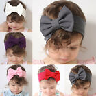 Внешний вид - Cute Baby Girls Toddler Newborn Big Headband Headwear Hair Bow Accessories