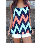 Summer Womens Casual Chiffon Vest Tops Tank Strap Blouse Sleeveless T-shirt