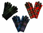 Ladies Luxury Tartan Gloves