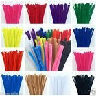 Chenille PIPE CLEANERS 6 MM X 300 MM Available in 12 Colours (Sold by 25)