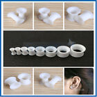 5Sizes 00g-6g Silicone Double Flare Tunnels Ear Expander Stretchers Plug Kit Set