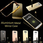 New Luxury Aluminum Ultra-thin Mirror Metal Case Cover for LG G4/G5 Mobile Phone