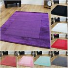 New Soft Thick Small Large Wool Rugs Warm Purple Red Black Teal Pink Carpet Rugs