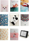 "Cute For Amazon Kindle 6"" Tablet Silm Magnetic Folio PU Leather Smart Stand Case"