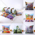 Art Oil Painting Comfy Cushion Pillow Cover Case Car Sofa Home Decor Gift g