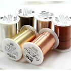 Внешний вид - LACQUERED tarnish Resistant Craft Wire Beadsmith 3 Colors 7 Gauges Free Shipping