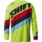 Shift Racing 2017 Youth Whit3 Tarmac Yellow MX Motocross Offroad 17219