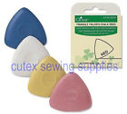 Clover Triangle Tailor's Chalk White / Yellow / Blue / Red #432 $2.45 USD on eBay