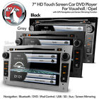 "7"" HD Bluetooth Navigation Car DVD USB SD Stereo & Screen Mirroring For Vauxhall"