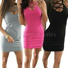 Sexy Women Bandage Bodycon Lace Mini Dress Evening Party Cocktail Summer N5K6