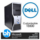 Dell T3500 Quad Core Precision PC Workstation Customisable Intel Xeon RAM Win 7