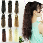 """21"""" Women Girls Long Wavy Hair Curly Hair Extensions Ponytail Synthetic 54"""