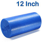 Yes4All Yoga Foam Roller EPP High Density Extra Firm Blue, Black 12 18 24 36""