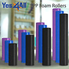 Yes4All Yoga Foam Roller EPP High Density Extra Firm Blue, Black 12 18 24 36