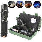 10000lm CREE T6 LED Tactical Flashlight Rechargeable Bike Light Battery Mount