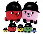 """Henry Hoover Soft Toy 8"""" Hetty Huggable Plush Vacum Red Pink Official Cuddly New"""