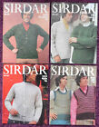 Sirdar Knitting Patterns Mens Vintage Waistcoat Sweaters - Choose from Drop-down