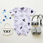 0-24M Newborn Infant Baby Boys Girls Romper Jumpsuit Bodysuit Outfits Clothes