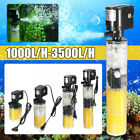 1000-3500L/H Submersible Water Internal Filter Pump For Aquarium Fish Tank Pond