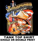 COUNTRY MUSIC AMERICAN WAY COWBOY COWGIRL WESTERN HAT BOOTS TANK TOP SHIRT 622