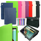 tab nexus 10 - Premium Leather Smart Case Cover for Google Nexus 9 Tablet by HTC 8.9-Inch / 10